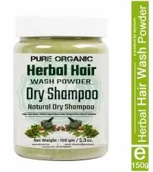 SkyMorn Pure Organic Herbal Hair Wash Powder, 150