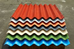 3.6 Meter Colour Coated Charminar Asbestos Cement Roofing Sheet, Thickness Of Sheet: 6mm
