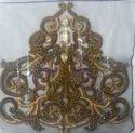 Handmade Embroidery Golden Applique Nakshi