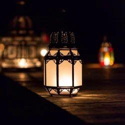 Aya White Medium Lamp
