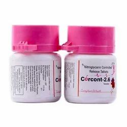 Nitroglycerin Controlled Release Tablets