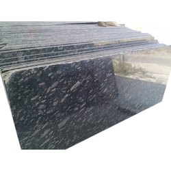 Polished Kotda Black Granite, Thickness: 15-20 mm, For Flooring And Counter Tops