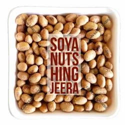 Hing Jeera Flavoured Roasted Soyabean Nuts, Packaging Type: Laminated hdpe Woven Sack