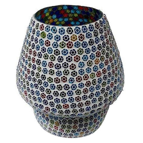 Mosaic Art Glass Table Lamp