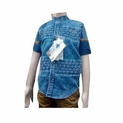 Mens Denim Shirt, Size: 38 - 44