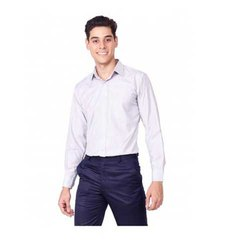 UB-SHI-06 Light Grey Uniform Shirt For Men