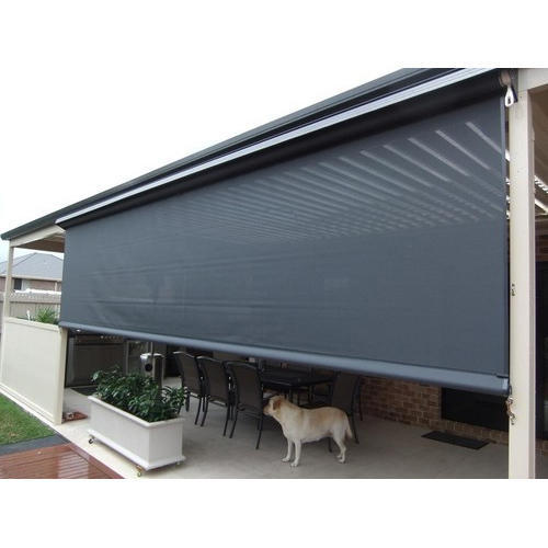 Horizontal Outdoor Roller Blind Balcony Rs 200 Square