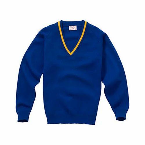 Navy Blue Boy School Sweater 20 Rs 140 Piece Om Sattnam Knitwear