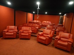 Wood And Fabric Home Theater Recliner Sofa Rs 20000 Sheet Id