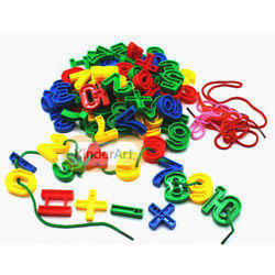 Number Lacing Toy