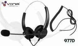 Vonia 977MD RJ Headset