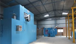 Semi Conveyorised Paint Booth