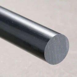 Black Nylon Round Rod