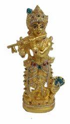 Gold Leafing Murli Krishna