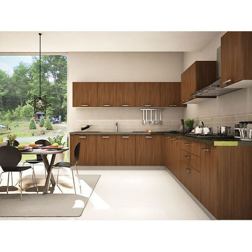 Wooden Modular Kitchen, Modular Wooden Kitchen, लकड़ी की