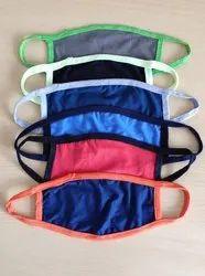 Netted Elastic Fabric Mask