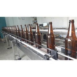 Stainless Steel Bottle Conveyor