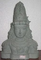 Parvathy Face God Statue