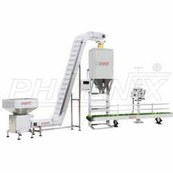 Semi Automatic Bagging And Stitching Machine
