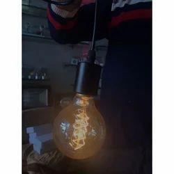 Aluminum Fluorescent Round Light Bulb