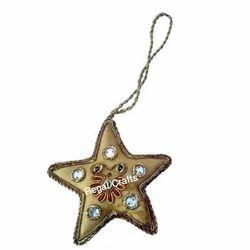 Star Shape Zari X-Mas Hanging