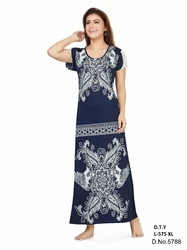 limpid in sight meticulous dyeing processes top-rated newest Ladies Night Wear - Fancy Nighty Manufacturer from Mumbai