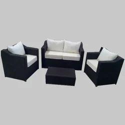 4 Seater Cane Sofa Set