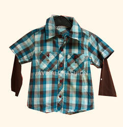 Avikalp Fashion Georgette Kids Wear Shirt