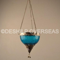 Deshilp Overseas Crackle T-light Hanging, Size/dimension: Height = 10 Cm, 10 Cm