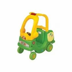 Green, Yellow School Needs Squard Car, for School/Play School