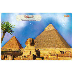 Giza Pyramid Premium Giant Floor Puzzle, Size/dimension: 36 Inch X 24 Inch
