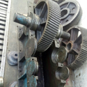 Steel And Bronze Straight Bevel Gear