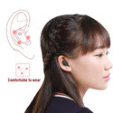 ROQ Smallest invisible Mini Bluetooth 4.2 Oval Business Earbuds