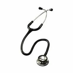 Single Sided Light Weight Cardiology Stethoscope, Stainless Steel, PVC, Polished Alloy