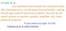 Sound System Repair Services