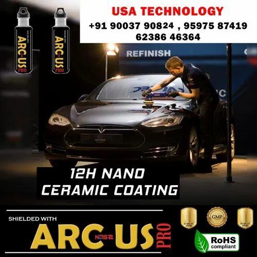 Ceramic liquid coating car