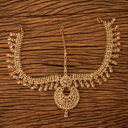 Women Antique Chand Damini with Gold Plating 200486