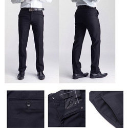Mens Black Trouser