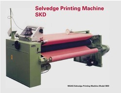 Semi-Automatic Multicolor Selvedge Printing Machine