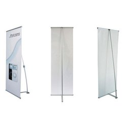 Plastic L Shaped Standee, for Advertising, Size: 6x3 Feet
