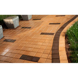 Square Glossy Pavers Block