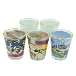 Transparent Sublimation Shot Glass, Capacity: 60 Ml