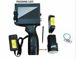 Handheld Batch Coding Printer For Bags/ Cartons / Big Pouches / Shipper Boxes