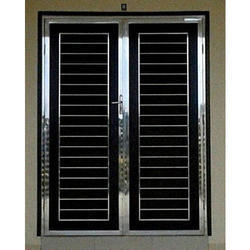 Main Double Leaf Door