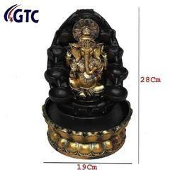 Beautiful Lord Ganesha Water Fountain Shree Ganesha Show -(ITN-332)