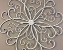White Metal Wall Hangings