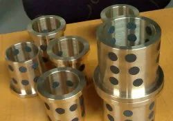 Oilite Cylindrical Graphite Filled Bronze Bushes