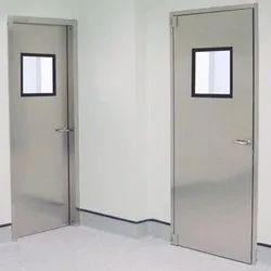 Hospital Stainless Steel Door