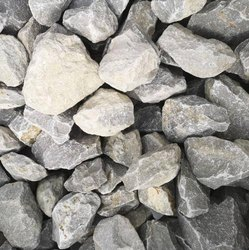 Granite Gray Stone Chips Ballast, Size: 60mm+, For Railway Line, Construction