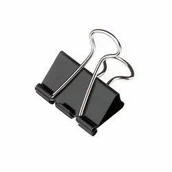 Silver Steel Binder Clip 41mm